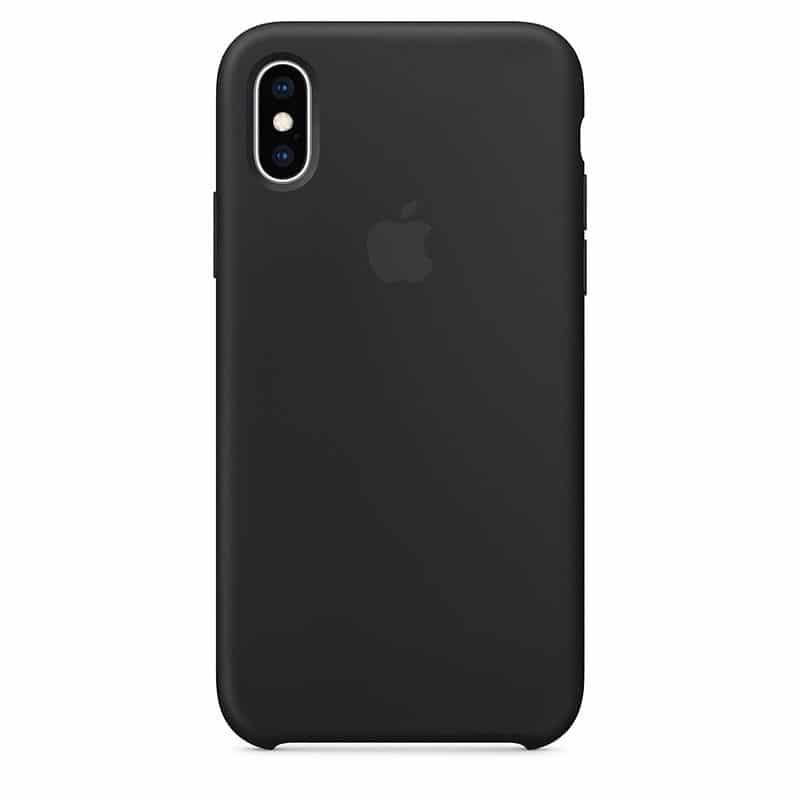 Acheter un Apple - Coque Silicone pour iPhone X - Noir - neuf - paiement plusieurs fois