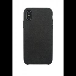 Acheter un smartphone neuf - Coque Gentleman Tissu pour iPhone X/XS - Noir - garantie 24 mois