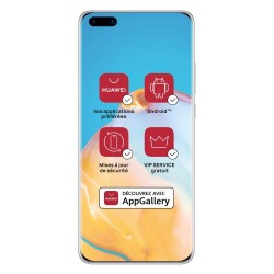 Acheter un smartphone neuf - Huawei P40 Pro 256 Go Argent - garantie 24 mois