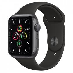 Acheter un Apple Watch SE GPS 44 mm - Boîtier en Aluminium Gris Sidéral avec Bracelet Sport Noir - neuf - paiement plusieurs foi