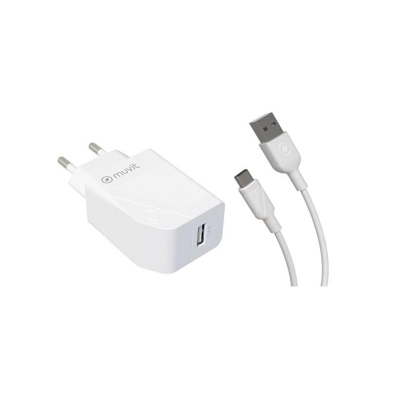 Acheter un Pack Chargeur secteur et Câble USB-C 1,2m - neuf - paiement plusieurs fois